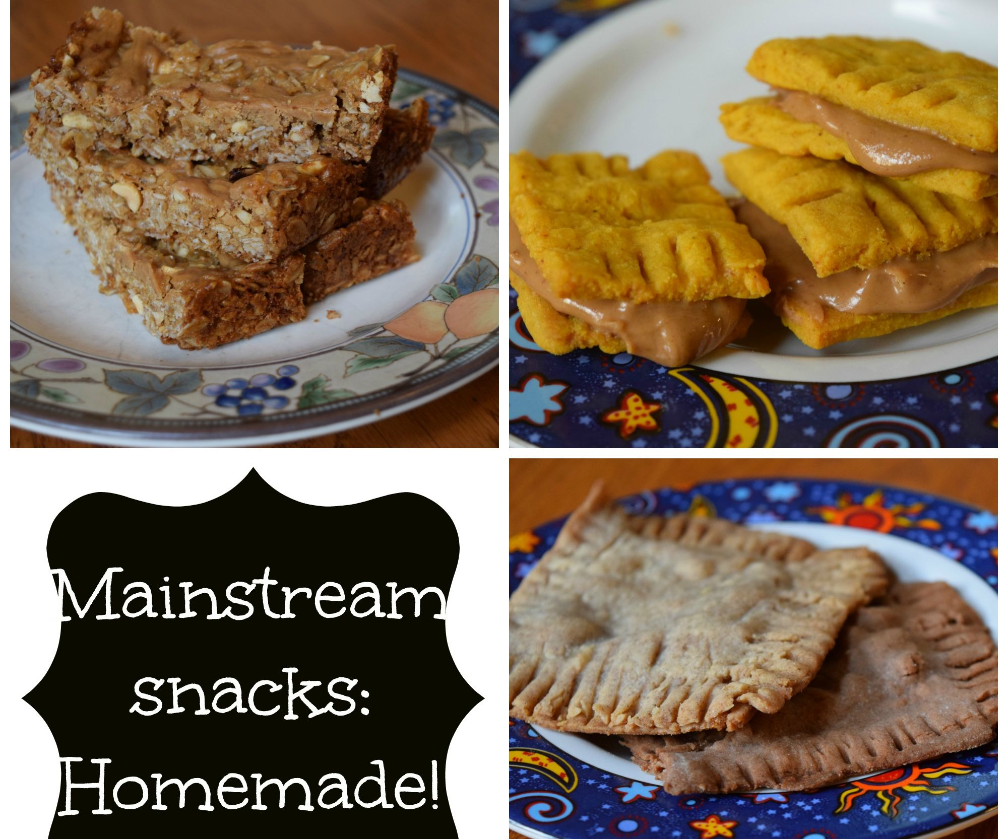 Mainstream Snacks-- Homemade!
