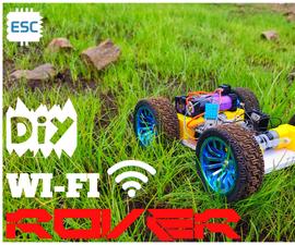 Wifi Controlled Multi Sensing Robot