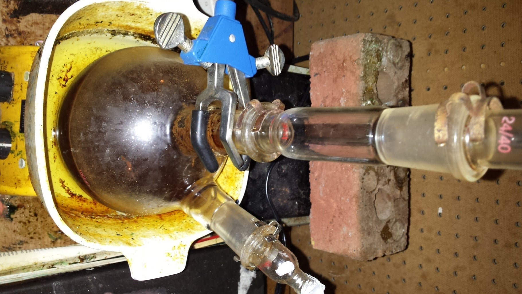 Preparing the Distillation of Certain Materials. Part 1