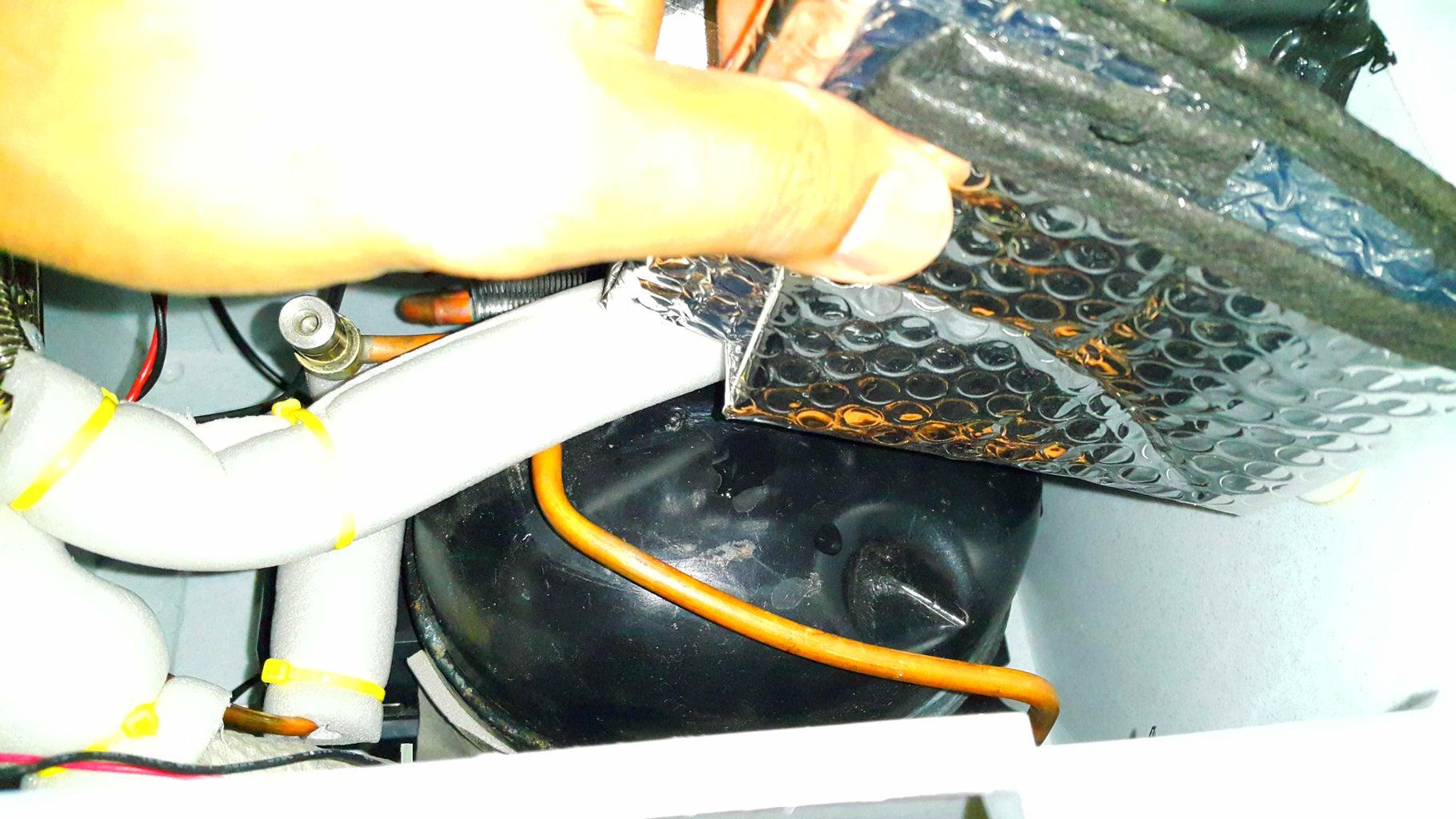 Adding Heat Shielding.
