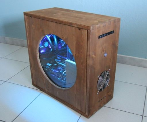 Wooden Pc Case 9 Steps With Pictures Instructables