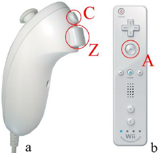 Wii Buttons Mapping and Commands