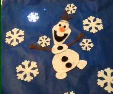 Singing Olaf Bag (Frozen)