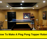 How to Make a Ping Pong Topper Robot