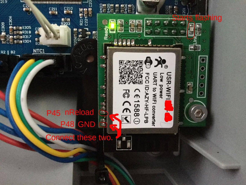 Factory Resetting a Locked Flashforge Dreamer WiFi Card