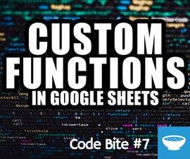 Add Custom Function in Google Sheets