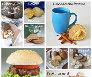 如何制作各种各样的面包