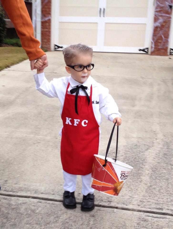 Halloween Costume - Colonel Sanders