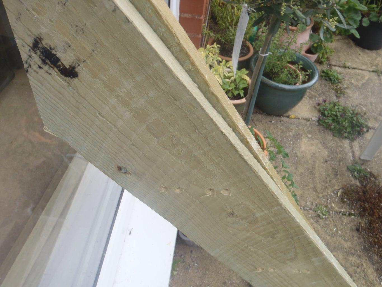Mark Lines for Planter Shelves