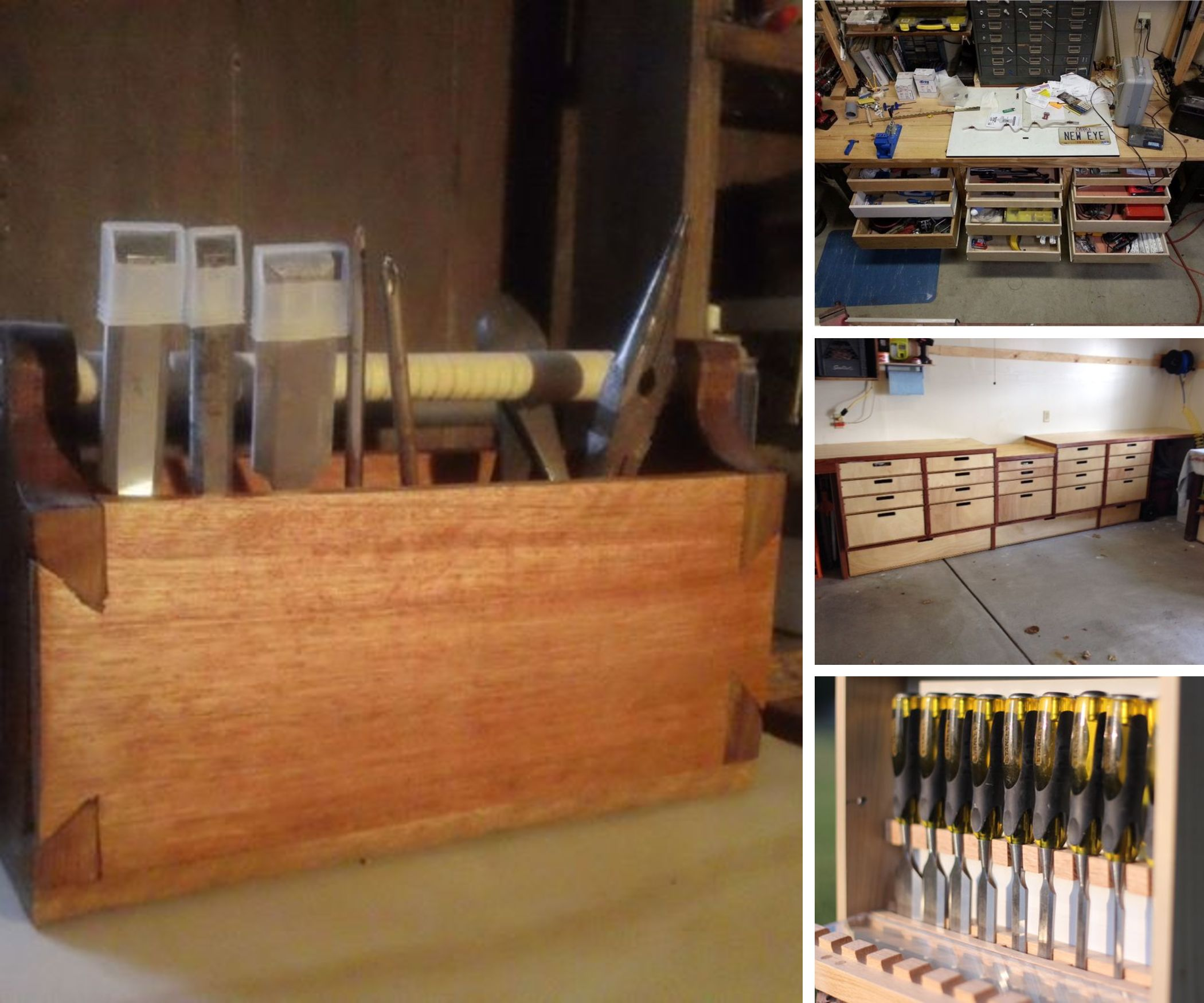 Woodworking Toolboxes