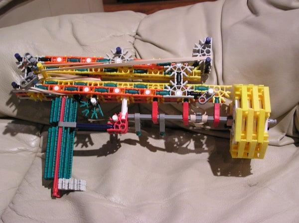 8-Shot K'nex Gun
