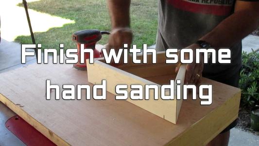 Sanding Time