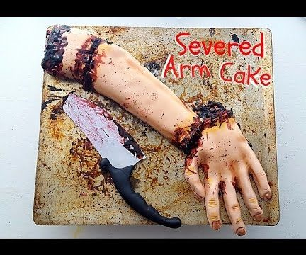 Severed Arm Cake