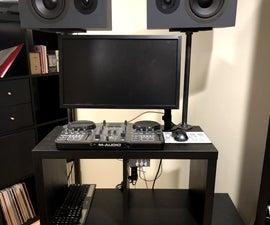 Compact DJ Table
