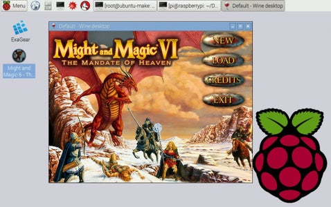 Port Might and Magic 6 to RPi