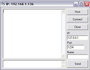 How to make a simple chat program in visual basic using the Microsoft Winsock Control