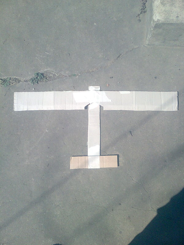 My Cardboard Airplane