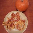 Soft Pumpkin Pretzels with Cinnamon Sugar!