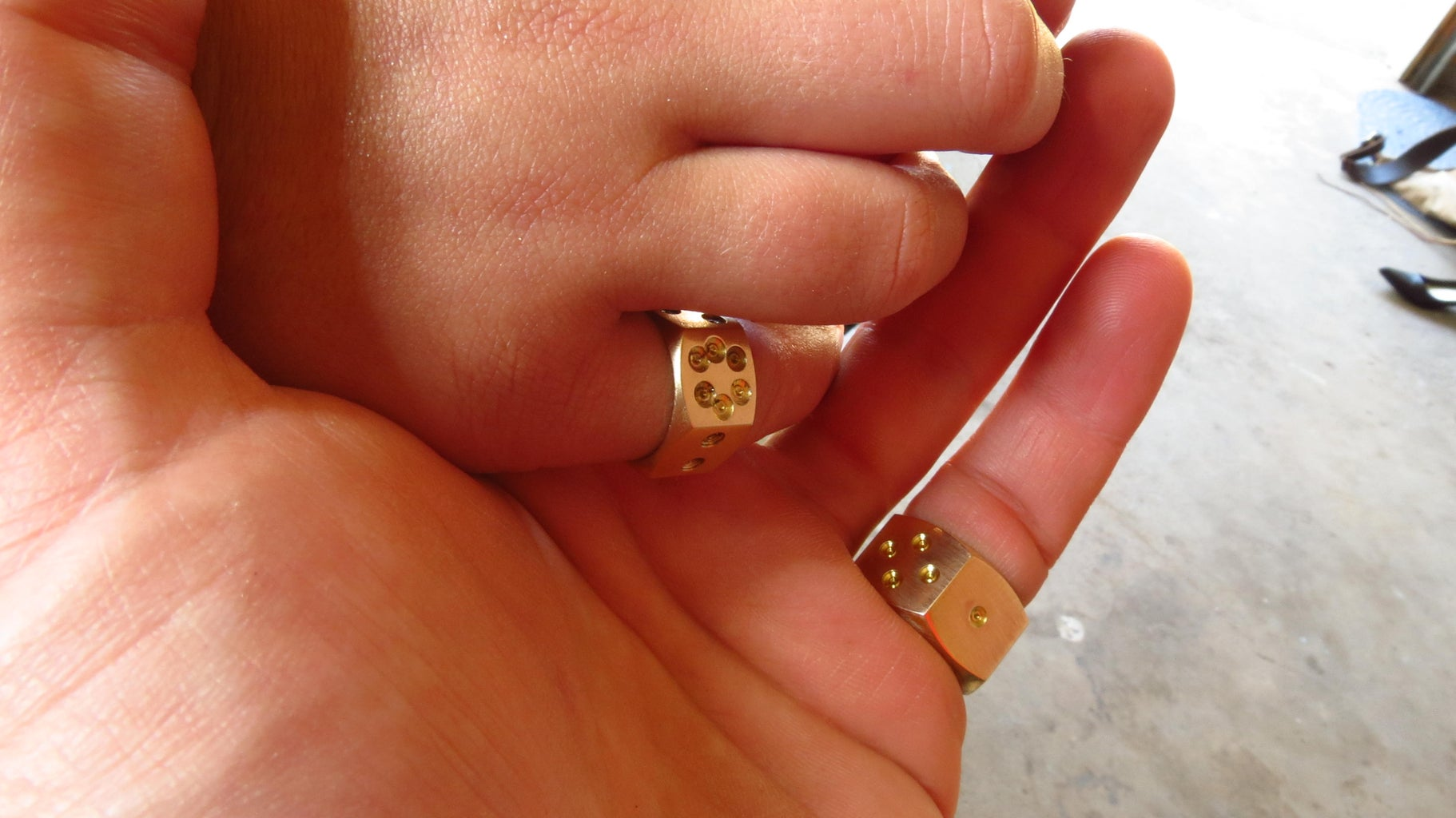 Daddy Daughter D6 Ring