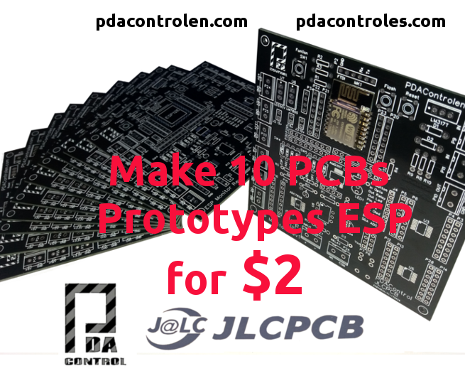 10 Professional PCBs for $ 2 With JLCPCB - ESPMonitor Prototypes