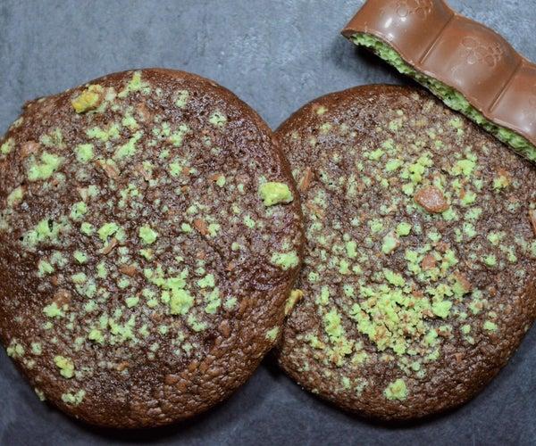 Aero Mint Chocolate Fudgy Cookies
