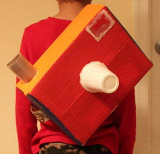 Make a Camera Backpack Out of a Box