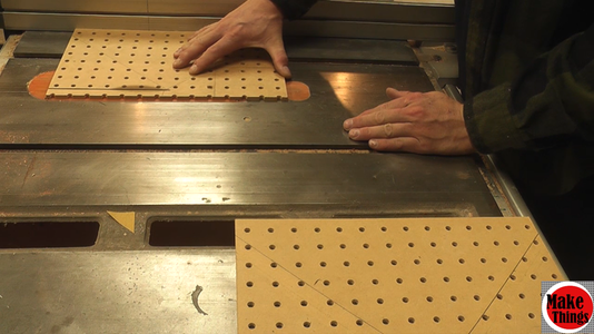 Cutting Your Pegboard to Size
