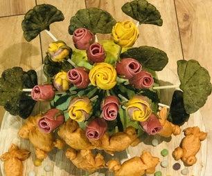 枝上的玫瑰和金鱼