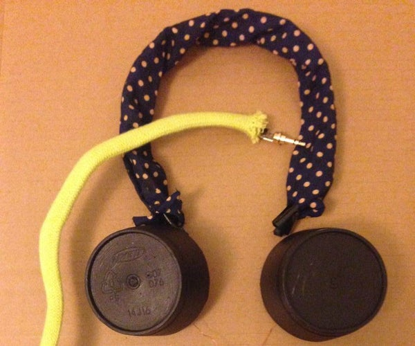 Beats by Jacqueline A. and Seidy C. (DIY Headphones)