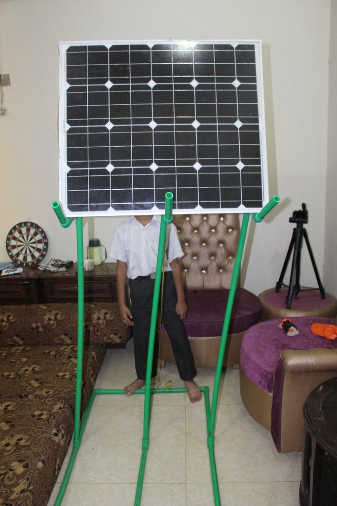SOLAR PANE FITTING