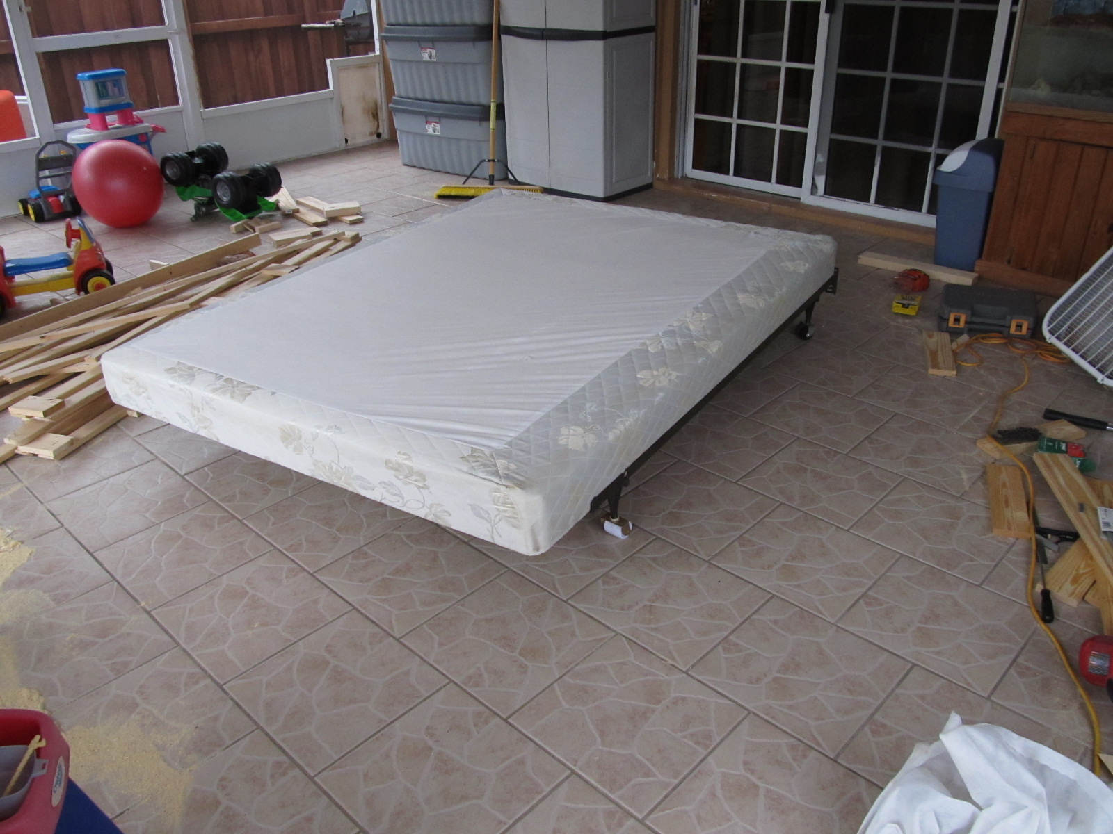 Re Building A Bed Foundation 12 Steps With Pictures Instructables