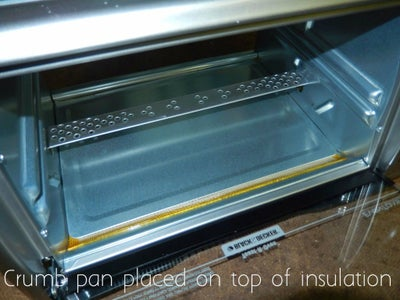 Insulate the Oven