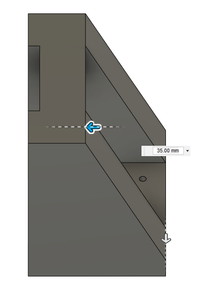 Design Process - Moving Load Cell Mount - Reinforcement