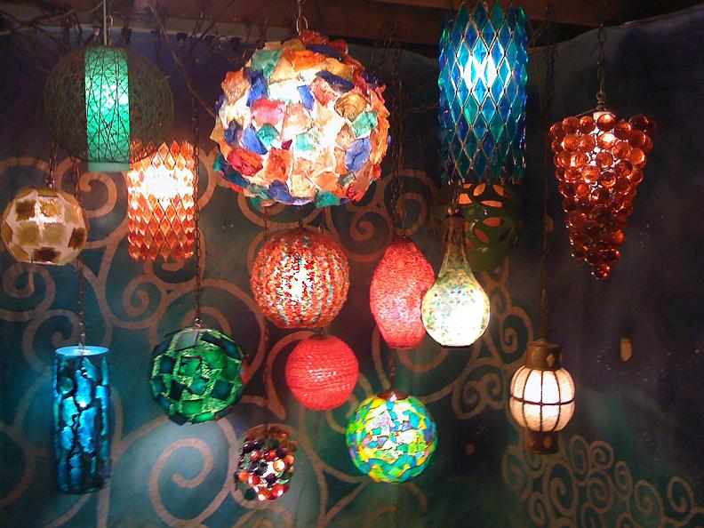 123D Make inspired Acrylic Lamp Mashup