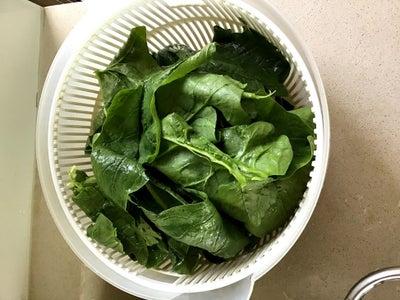 Preparation - Spinach