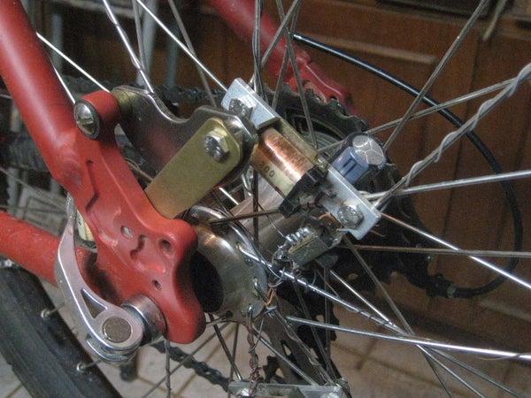 Contactless Dynamo Bike Wheel Lights