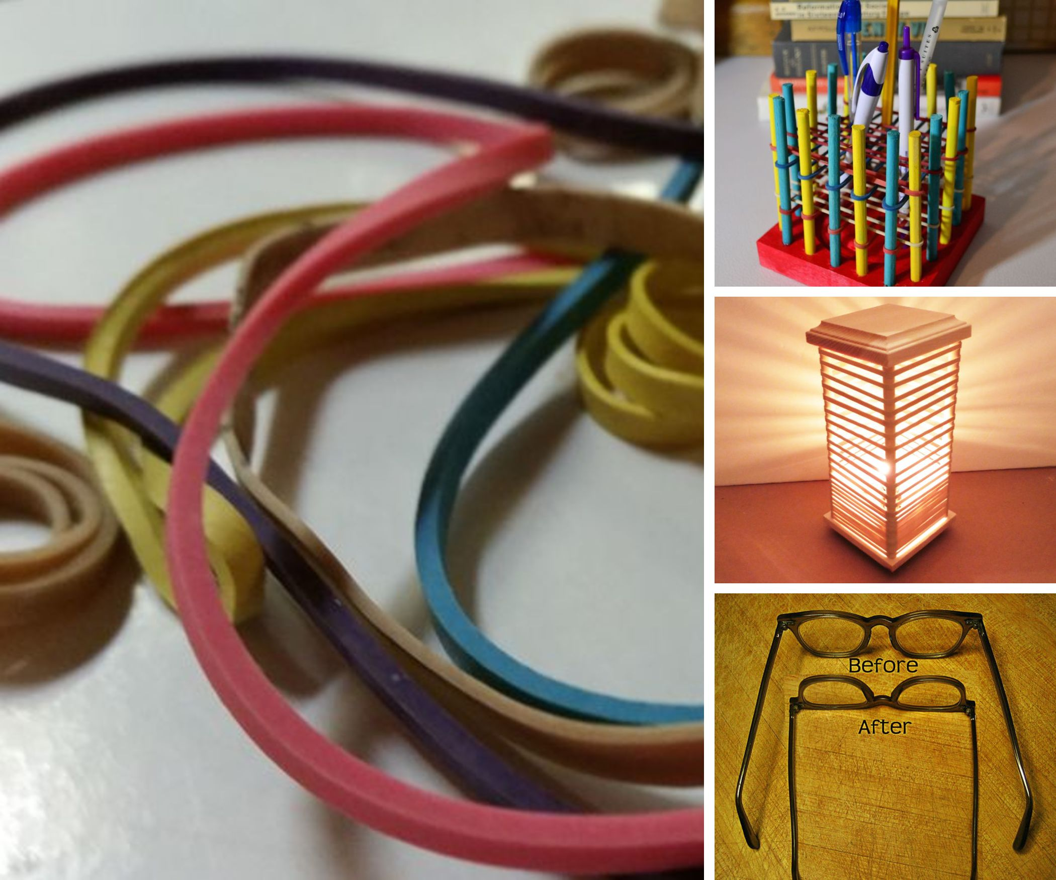 Unusual Uses for Rubber Bands
