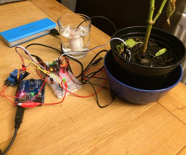 Auto Plant Watering System