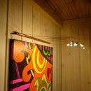 DIY Copper Style LED Painting Illuminator