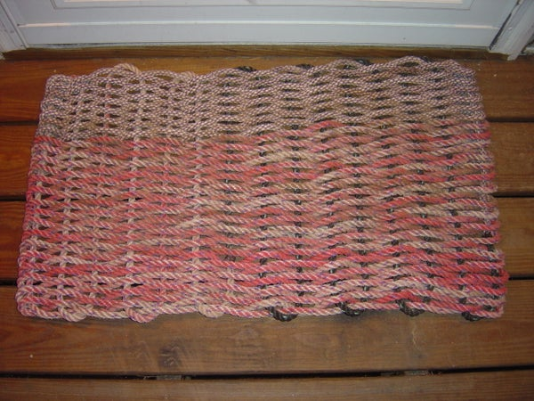 How to Make a Doormat Out of Recycled ROPE!