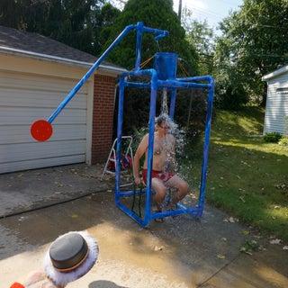 Backyard Dunk Tank