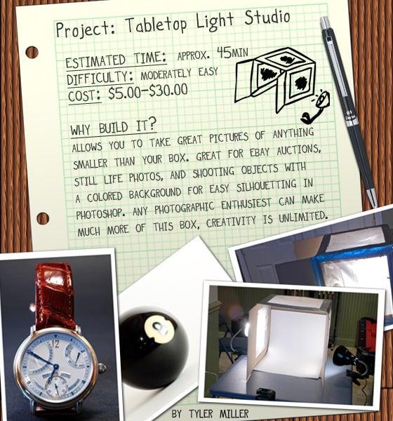 Light Studio for Photographers (Tabletop)