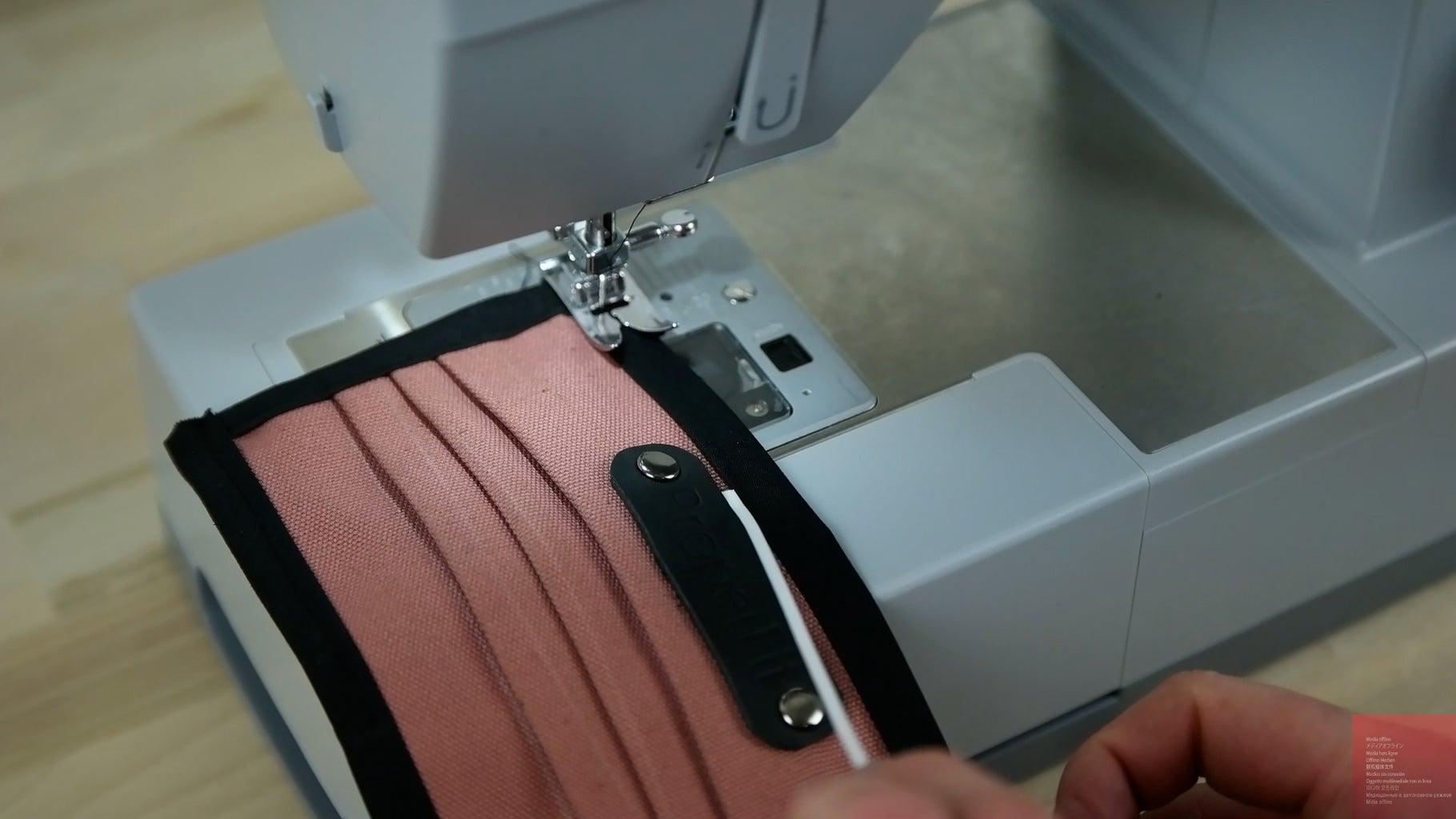 Add Bias Tape + Nose Adjustment