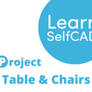 2.6. Chair and Table | Learn SelfCAD