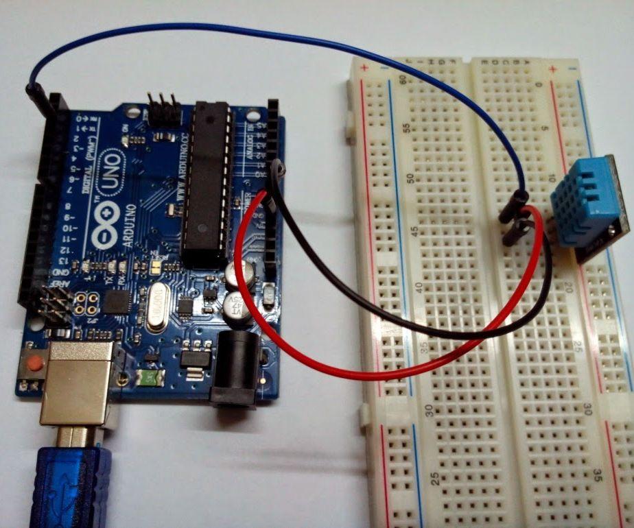 Arduino And DHT11 Humidity Sensor Interface