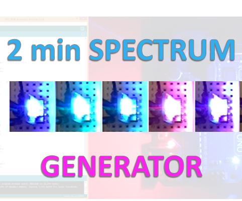 2 Minute Spectrum Generator