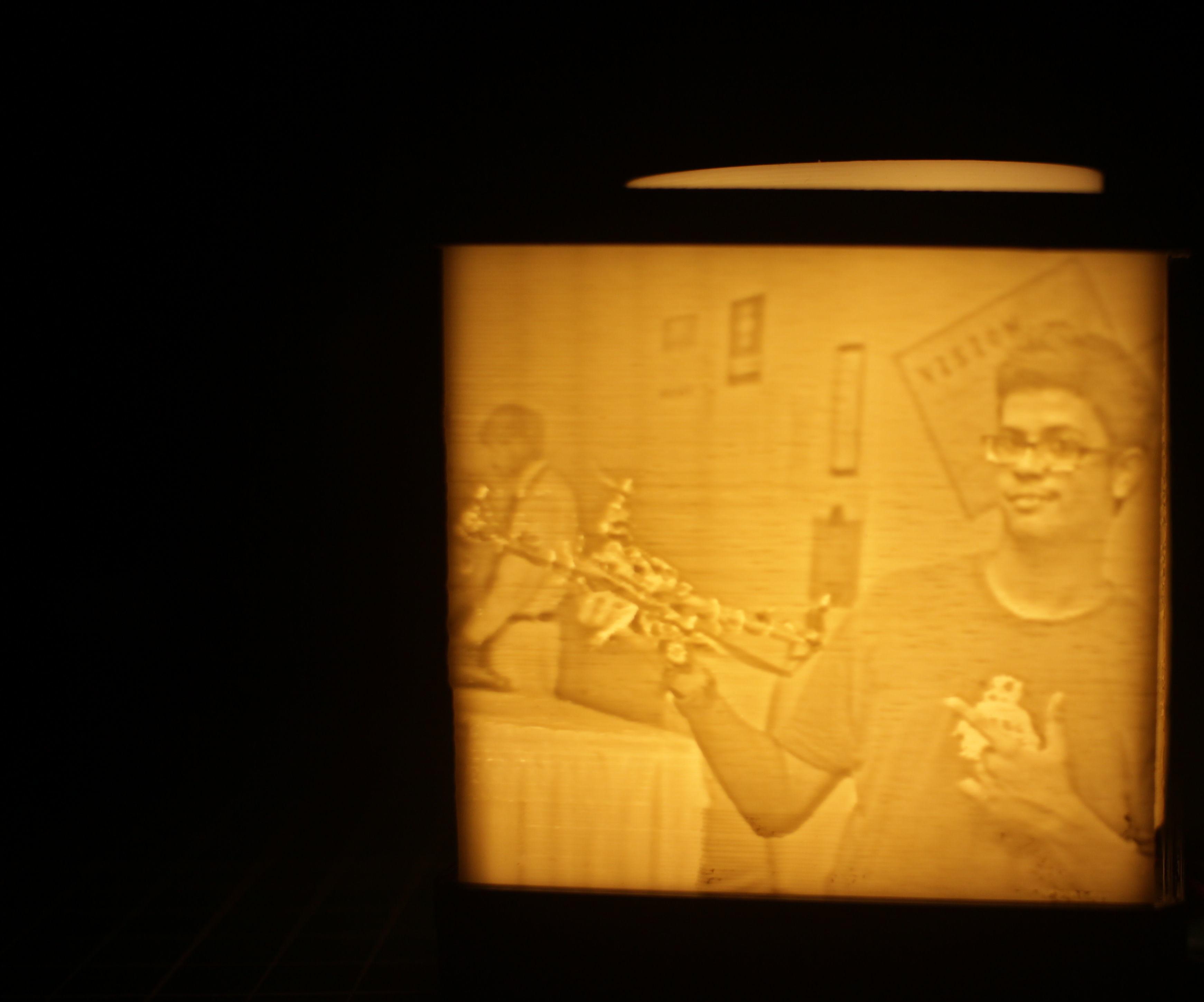 Lithophane Lamp : 3D PRINTING YOUR PHOTOS!
