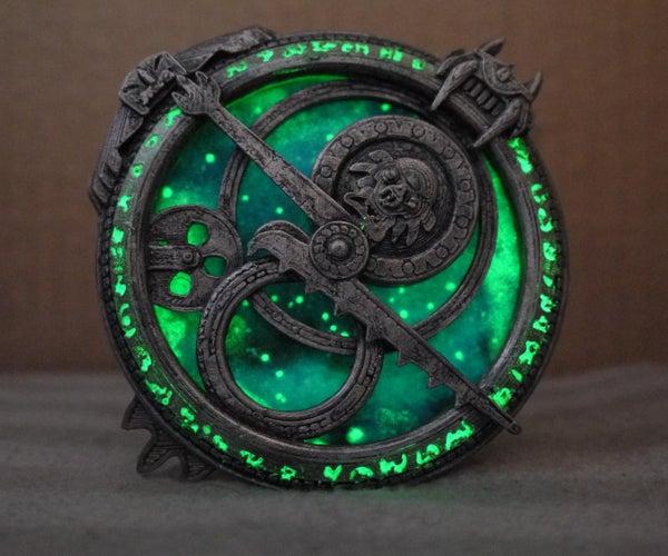 Glow-in-the-dark Amulet of Daylight - Troll Hunters