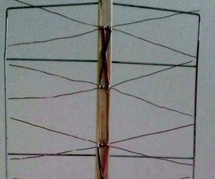 Eight Bay Bowtie Antenna Array