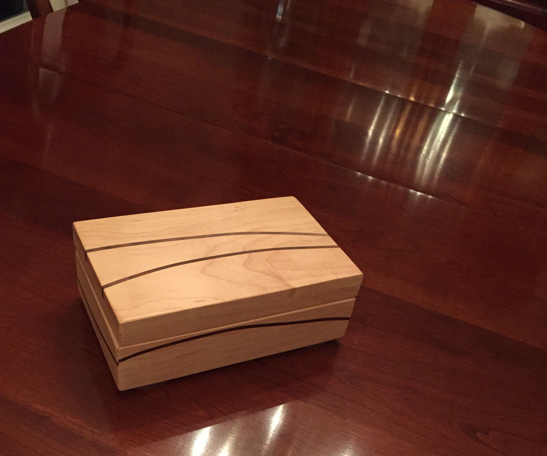 Wave design music box/jewelry box